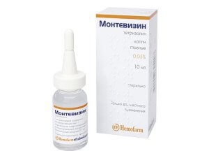 Montevisin eye drops